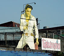 Elvis sighted in Thonburi, Thailand
